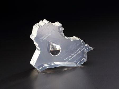 水晶异形展示台