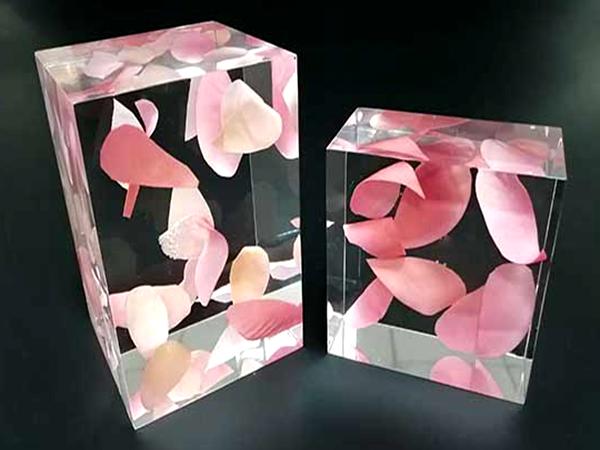水晶花艺展示台