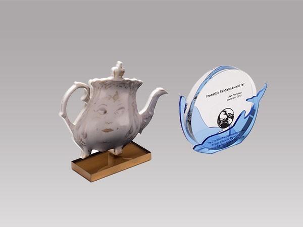 亚克力茶具展示台