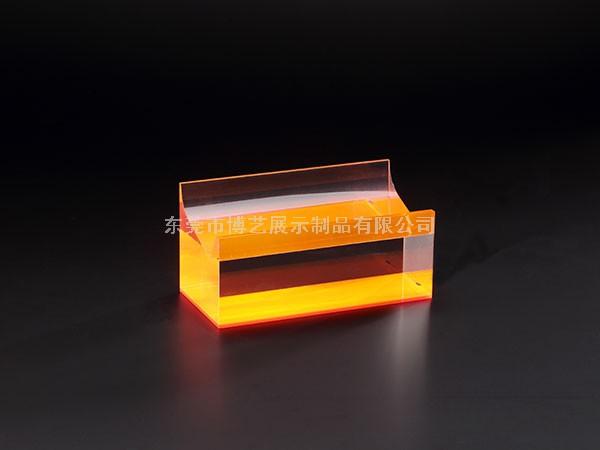 橙色亚克力展示台