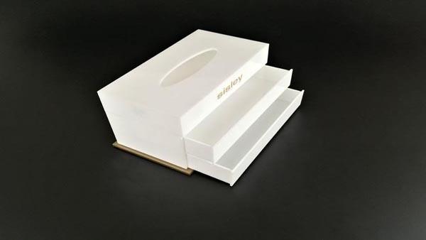 亚克力纸巾盒 BY-JJ16-1