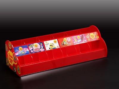 红色亚克力储物盒