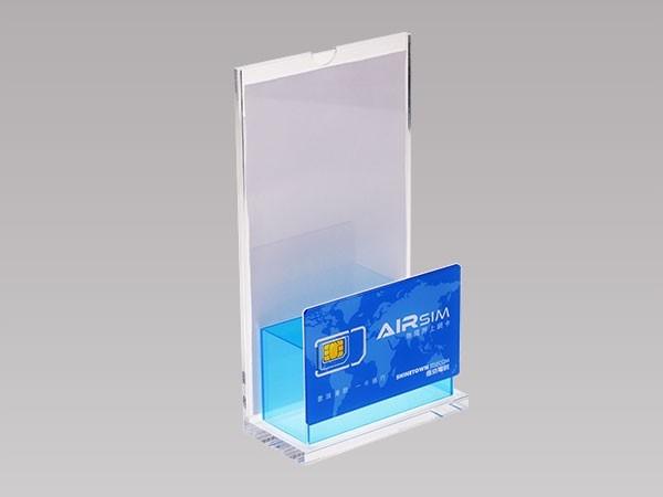 亚克力SIM卡展示架 BY-DZ09