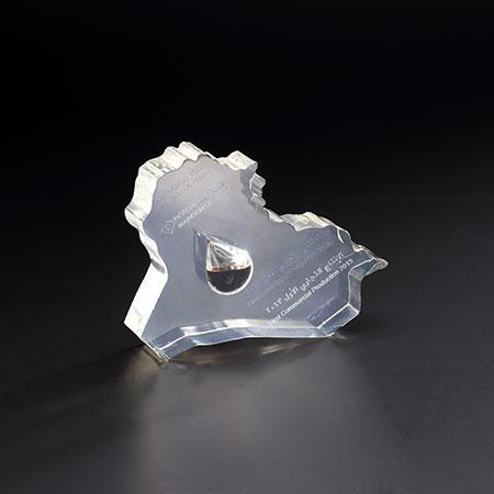 水晶异形展示台 BY-SJ03