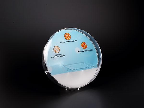 亚克力圆球形展示架