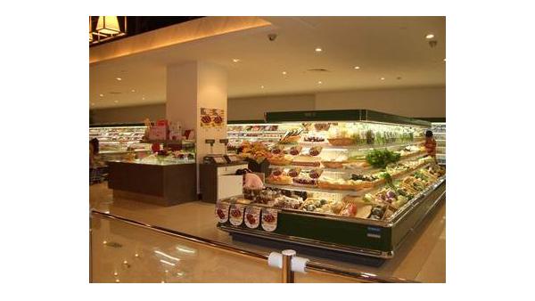 在大型超市中,亚克力展示架展示产品有什么优势?
