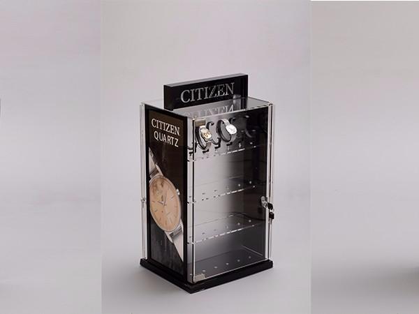 CITIZEN手表展示柜